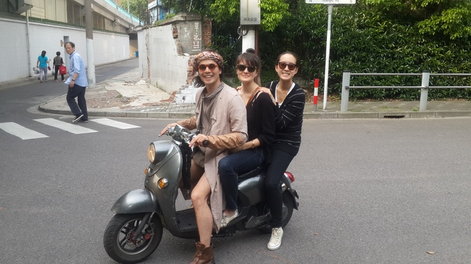 Come on a scooter tour with me to see Shanghai street style first-hand (seats 3!)