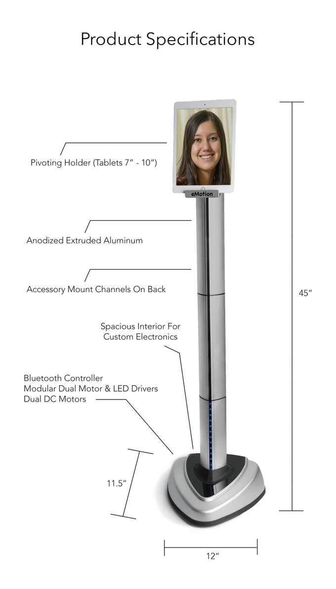 Product features and dimensions