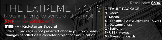 riots - Affordable wireless IoT microcontrollers and sensors