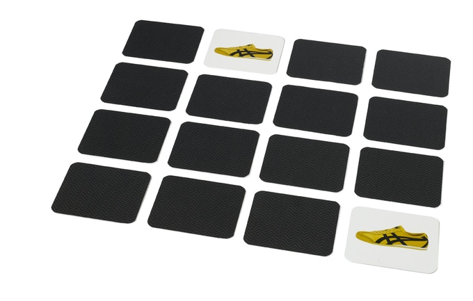 A match is made! You can play with only the memory cards if you want. The player with the most matches wins.