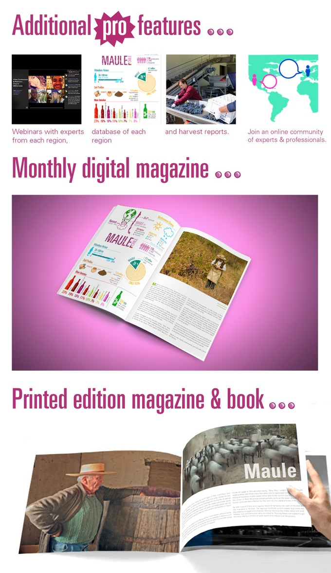 See some of the planned magazine features here