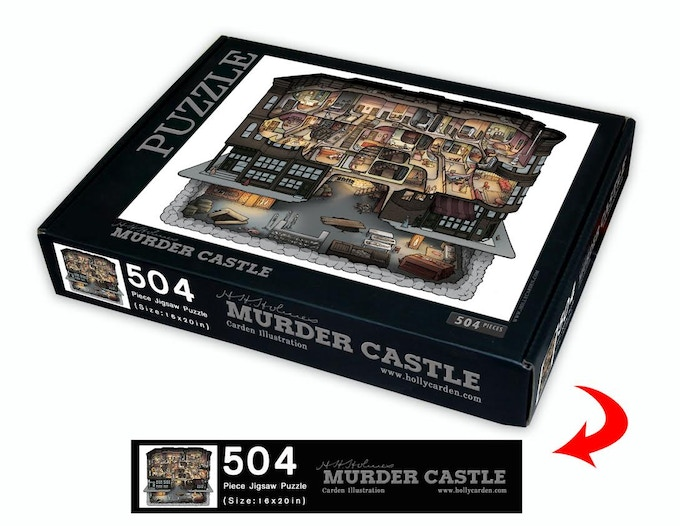 H. H. Holmes Murder Castle Jigsaw Puzzle