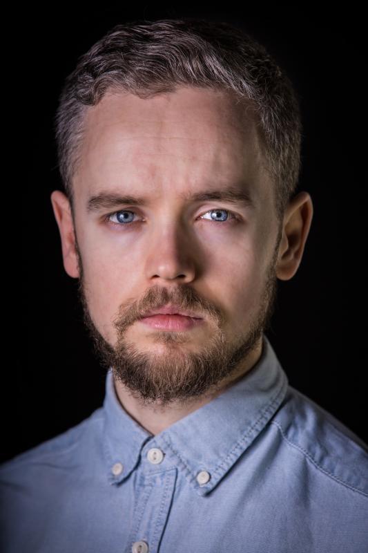 Scottish actor Chris Bain