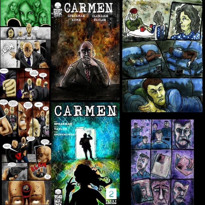 Carmen created by Mike Speakman