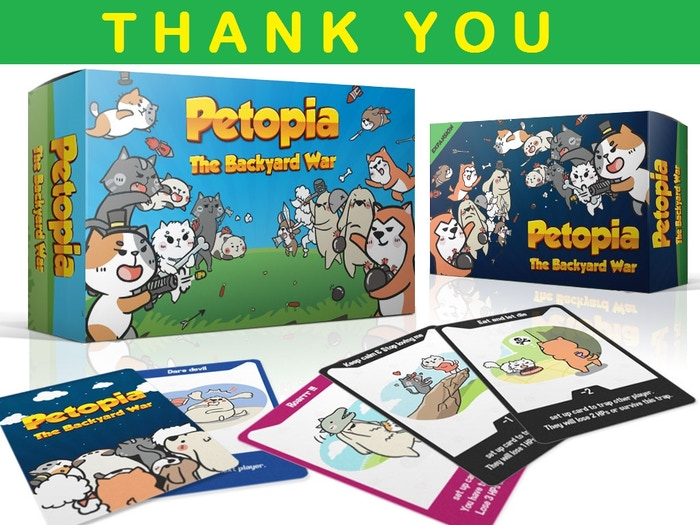 Petopia : The Backyard War by Crafterwar — Kickstarter