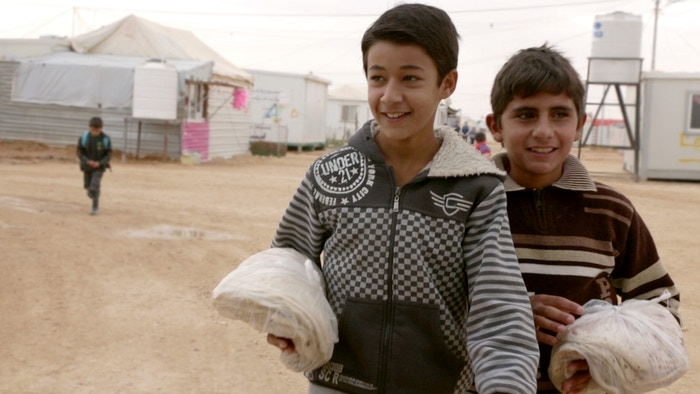 Documentary about two families in a Syrian Refugee Camp.