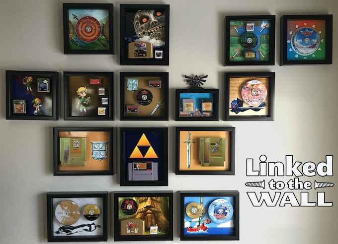 The Legend of Zelda series - see http://imgur.com/a/kG7ot for image credits