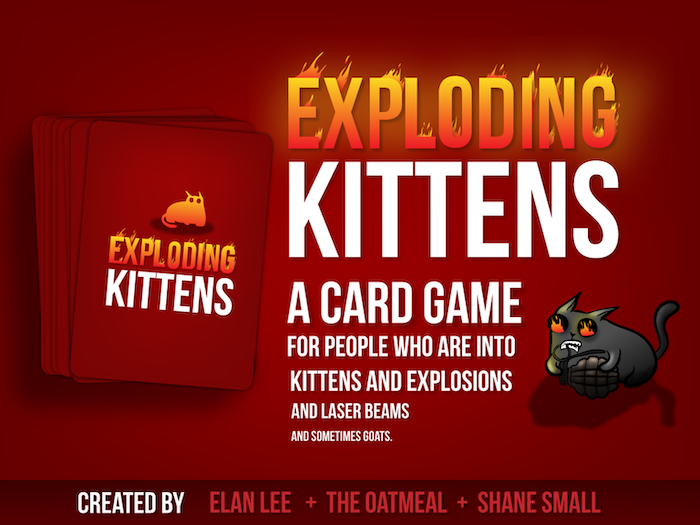 Exploding Kittens was funded on February 19, 2015.