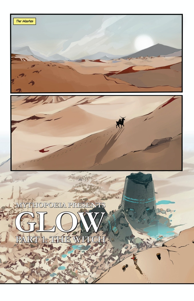 Page 01 of Issue One. Artwork not yet finalized.