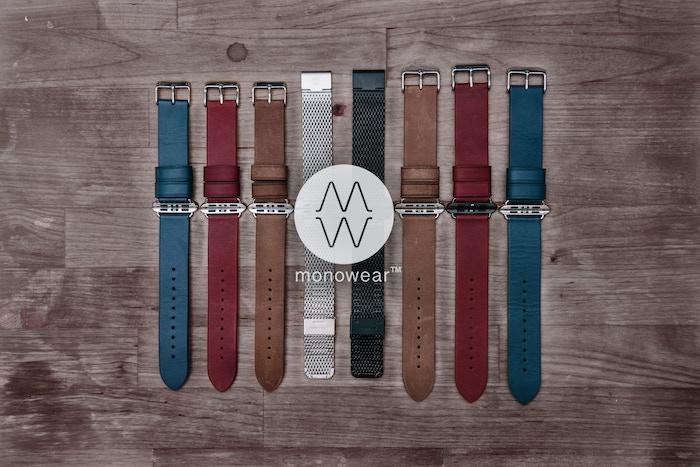 Premium designer watchbands, seamlessly compatiblewith Apple Watch