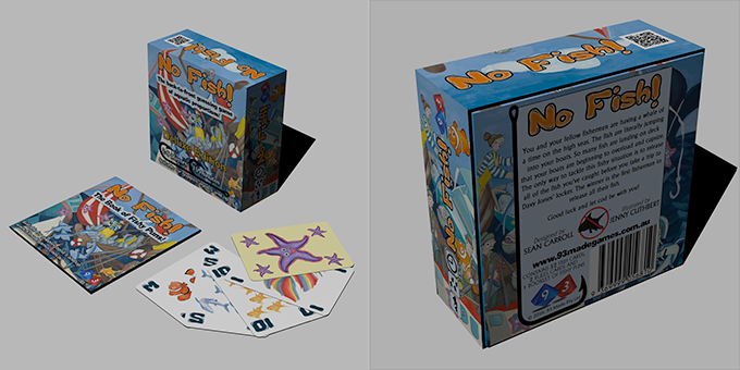 Mock-up of Deluxe No Fish! (minor refinements may be made to the final product... available worldwide!)