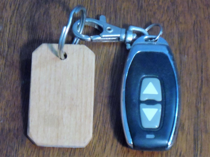 Alder key chain reward