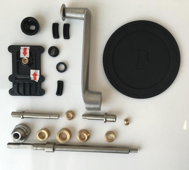 Handground prototype pieces