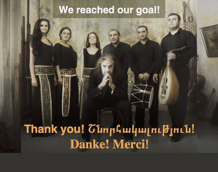 The Naghash Ensemble's new CD and Book with music by John Hodian based on texts by the Armenian mystic poet and priest M'krtich Naghash