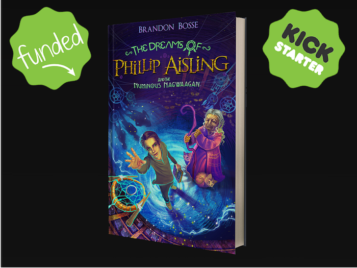Learn to control your dreams alongside Phillip in this fun new book series  written for young