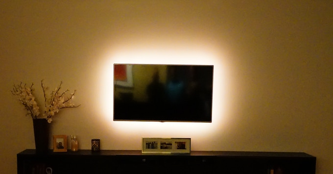 Television With Ambient Lighting
