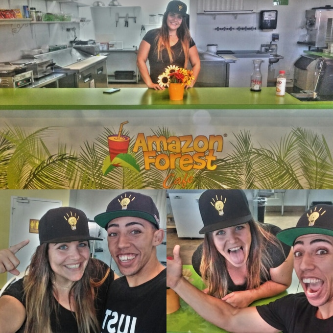 Local Orlando business, Amazon Forest Café, showing love & support!