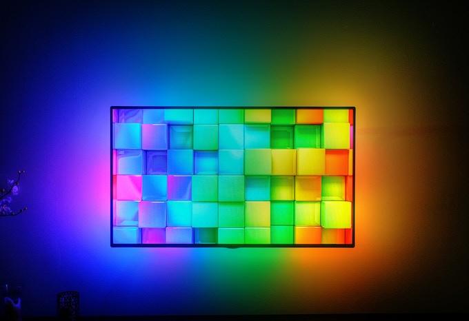 Size Mega has 72 Individually Addressable LEDs