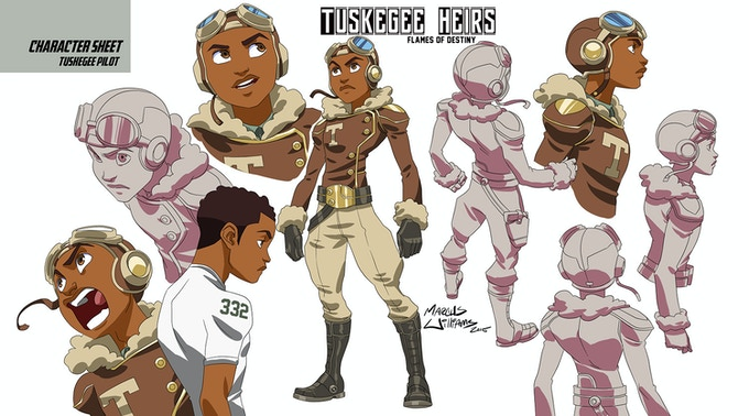 "Tuskegee Heirs Pilot ""Able"""