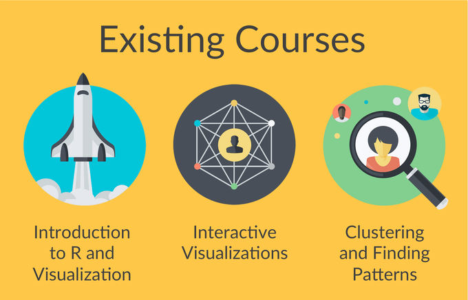 We've released these courses into the wild