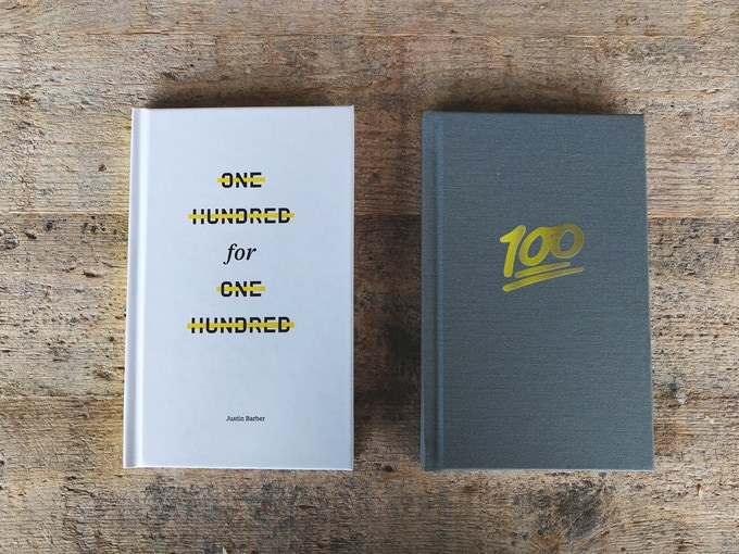 $100 pledge level: Both editions of the book