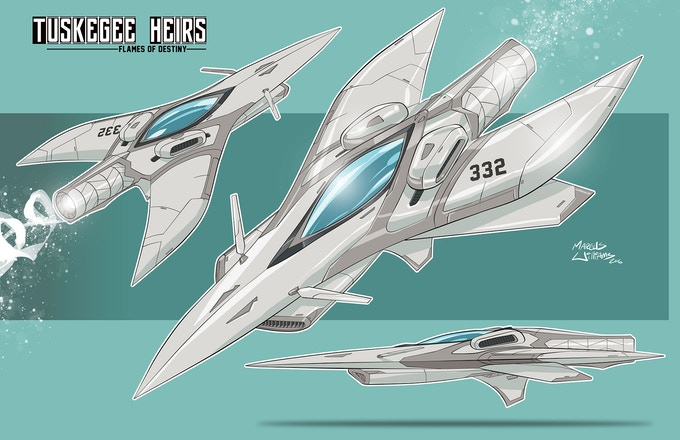 Tuskegee Heirs Jet Concept