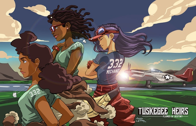 The ladies of Tuskegee Heirs