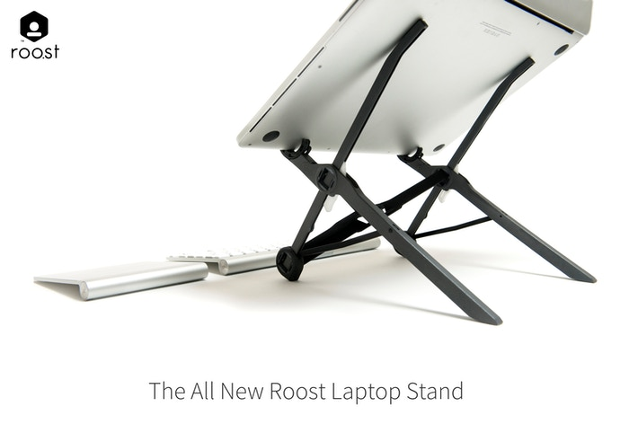 The most effective way to improve posture and help eliminate pain and Repetitive Strain Injuries (RSI) for laptop users.
