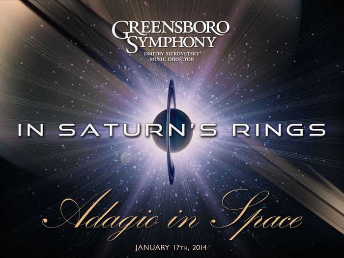 "Recording & Mixing Complete! Greensboro Symphony recordings of ""Adagio for Strings"" for ""In Saturn's Rings"" a space film for IMAX® theaters"