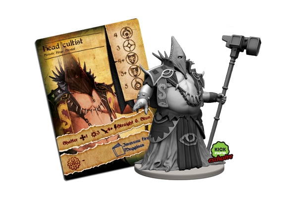 Head Cultis Kickstarter exclusive