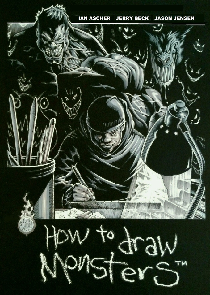 STANDARD cover to HTDM, hand-colored by Rick Ehm