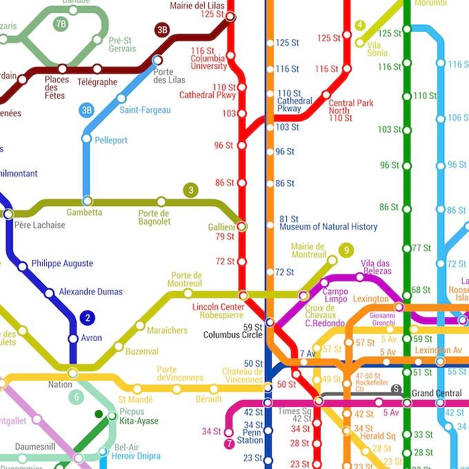 The World Metro Map By G Cid Kickstarter