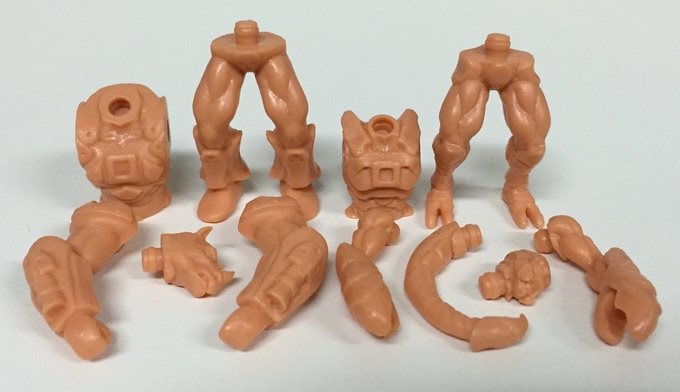 Articulated with Glyos joints!
