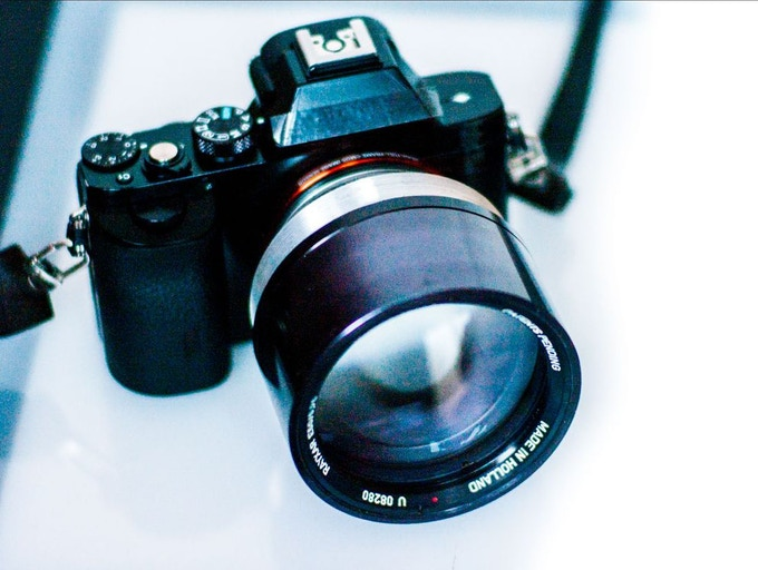 50 mm f/0 75 - The fastest photographic lens in the world
