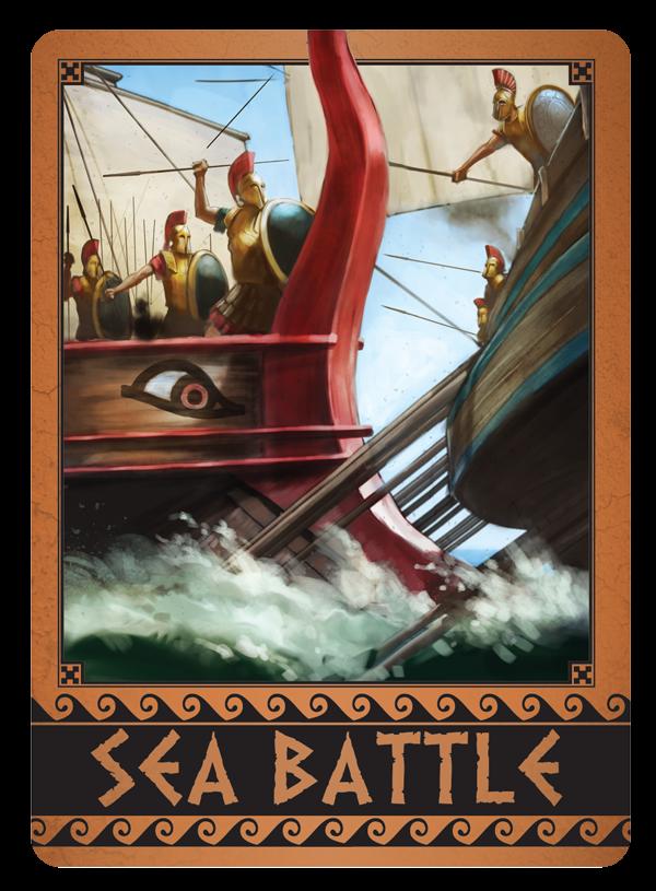 Sea Battle card