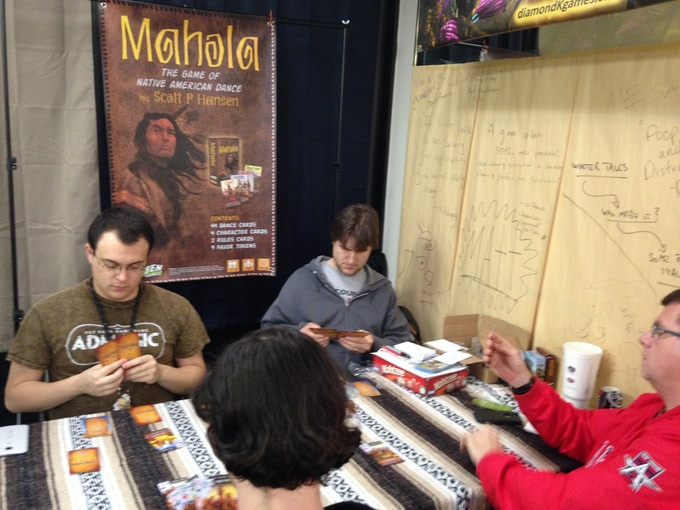 Mahola was part of the DDG Showcase at Dallas Games Marathon's Nerd Night (click here to learn more about DGM!)