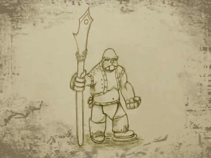 Walrusman the harpoon