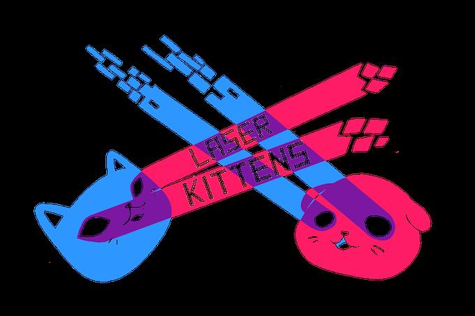 Laser Kittens logo