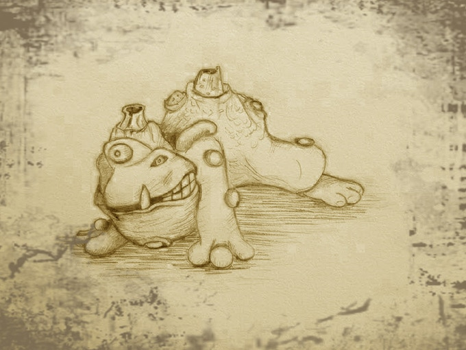 Vacu the mutant toad