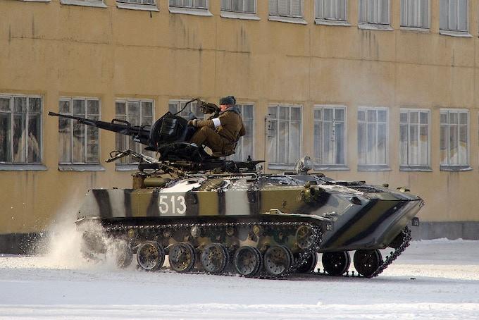 BTR -D SPAAG