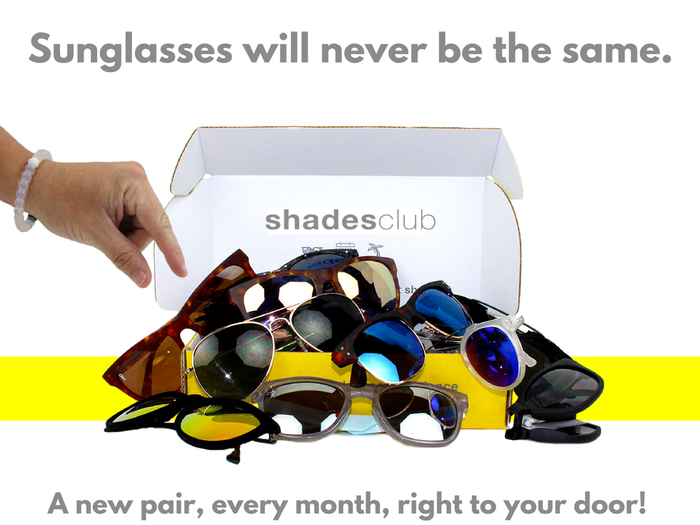 Shades Club 2.0 is now LIVE On Kickstarter until April 8th. Get involved now! Take our style quick and pick your pairs. Every pair is polarized! The World's 1st subscription box for premium sunglasses. Different days. Different shades.