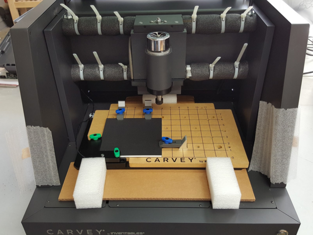 New foam stabilizers inside Carvey for safe shipping