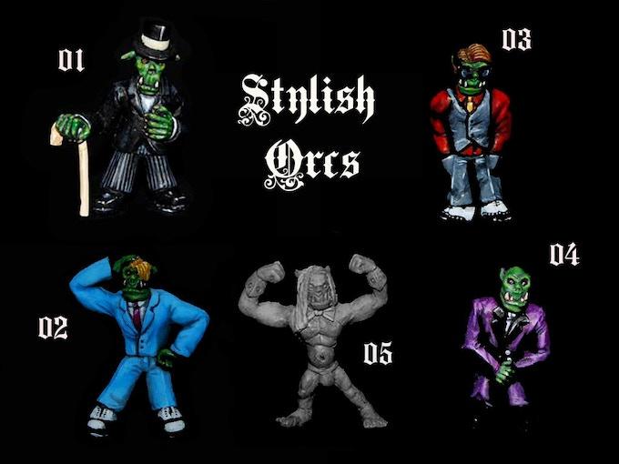 Stylish orcs 32mm