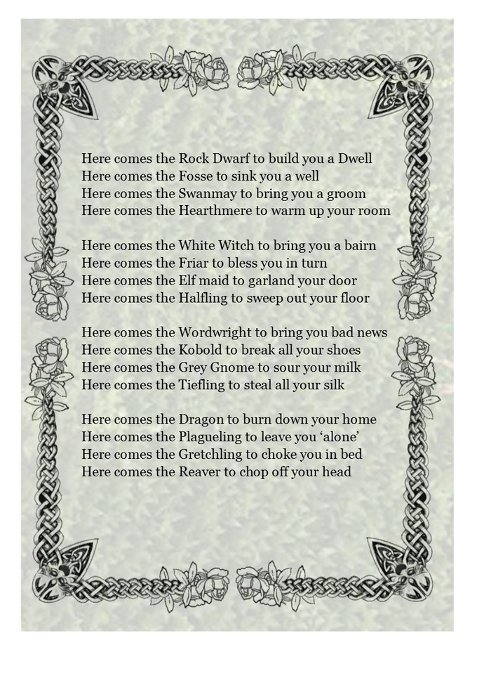 A nursery rhyme, to help you sleep