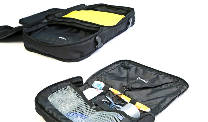 c8f8dd31d3 The dopp-kit is designed to also fit in the  duffle-style  outside pocket  of the backpack --- you end up with more space in the Tripcover to pack  clothes.