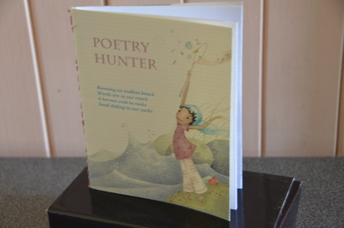 Poetry Hunter - Hand Stitched Notebook