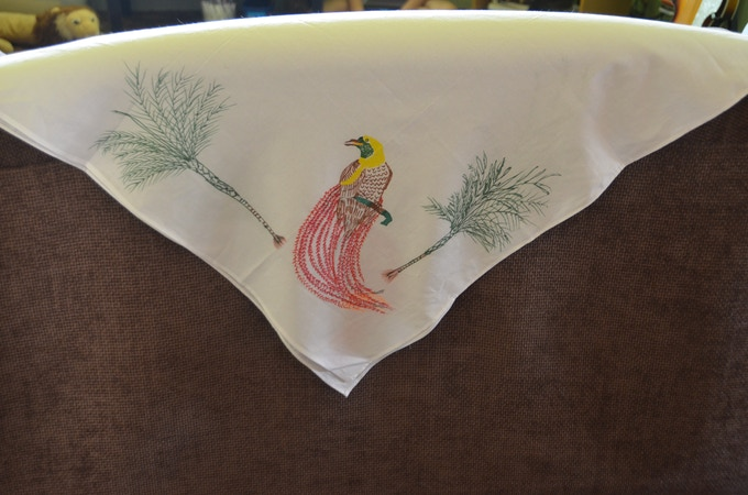 Another one of the Bird of Paradise Scarves