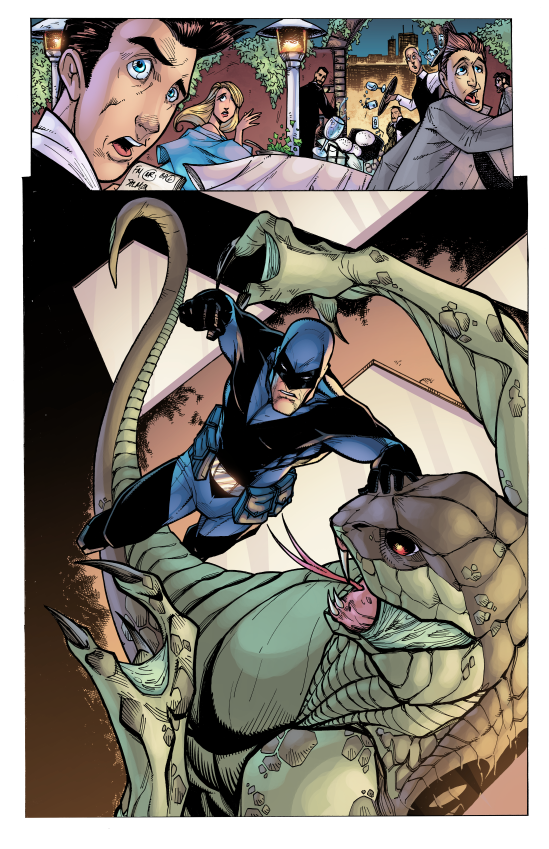 ACP #1: Midknight, Page Two. Pencils/Inks: Tom Hodges, Colors: Jeremiah Skipper