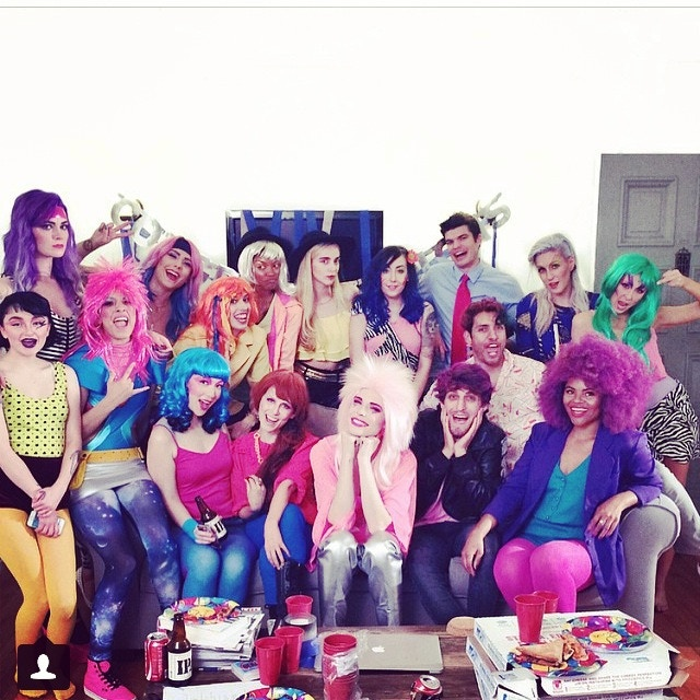 The cast of Jem Reacts