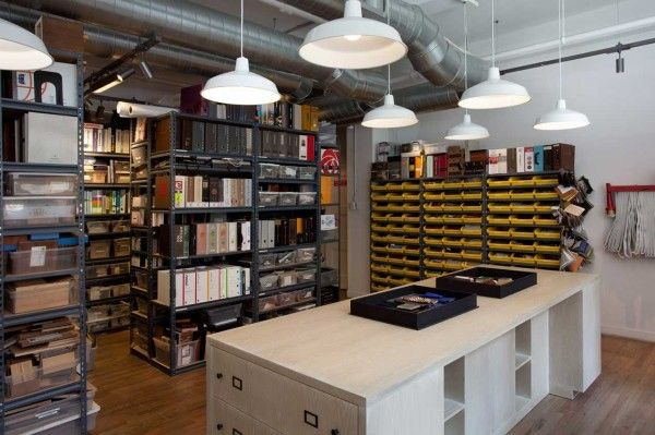 Example of a fantastic product and reference library. Photo credit: Icrave's NYC office